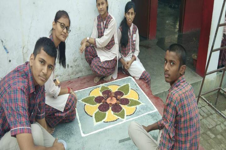 D A V Public School-Rangoli