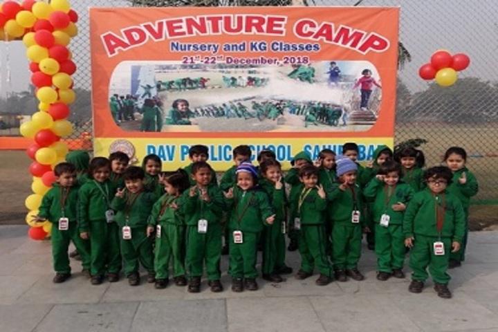 D A V Public School-Adventure Camp