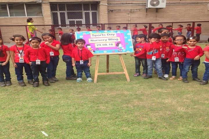 D A V Public School-KG Sports day