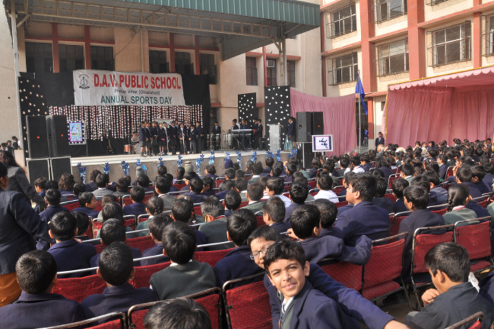 D A V Public School-Annual Sports Day