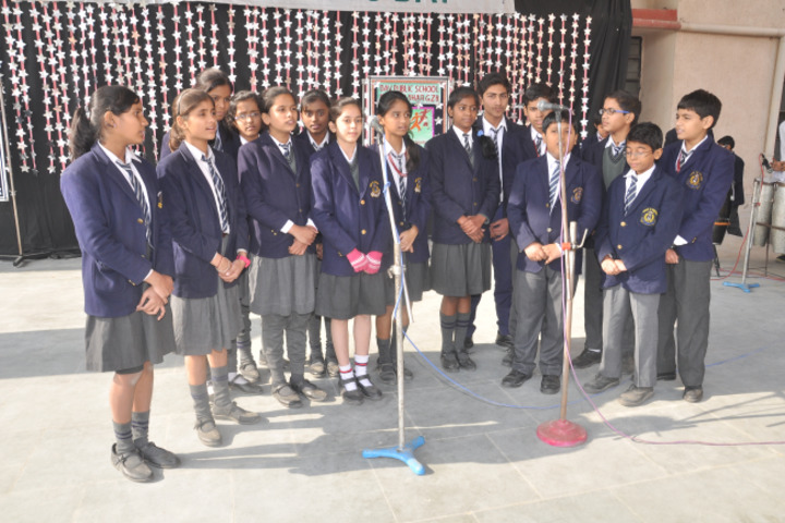 D A V Public School-Group Singing