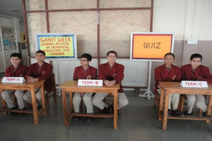 D A V Public School-Quiz Competition