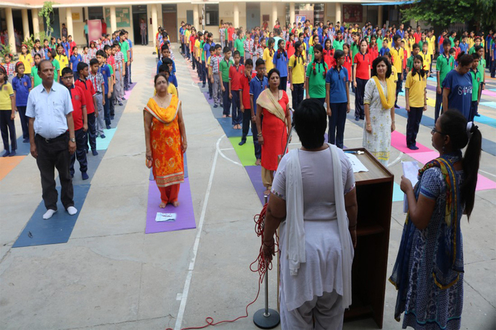 D R S S Modern Public School-Yoga
