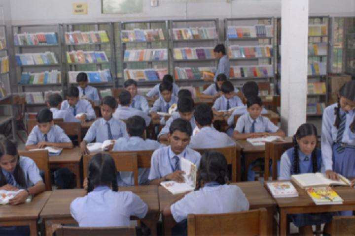 D M Public School-Library