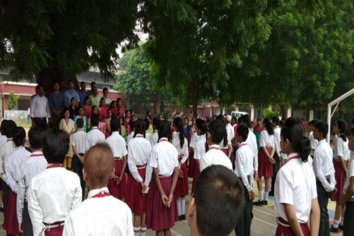 D P Public School-Assembly