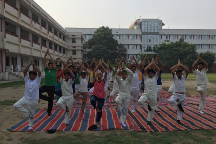D S Public School-Yoga activity