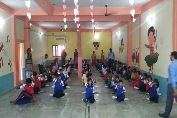 Dalimss Sunbeam School-Yoga1