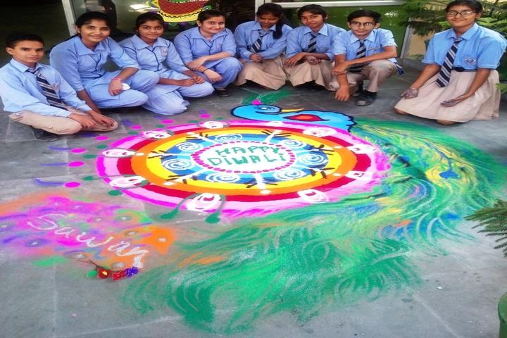 Darshan Academy-Rangoli