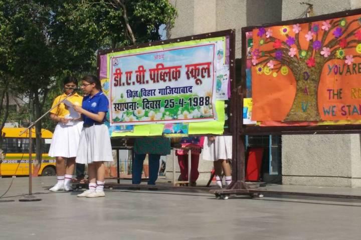 Dav Public School-Foundation day