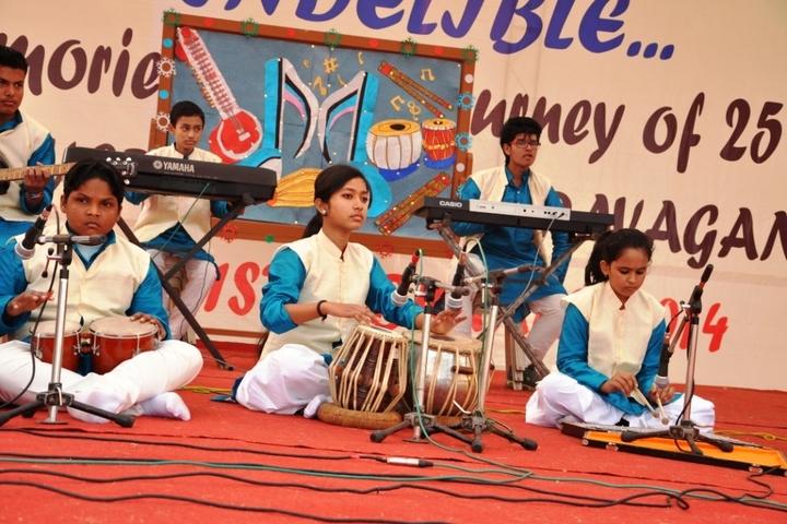Dav Public School-Music