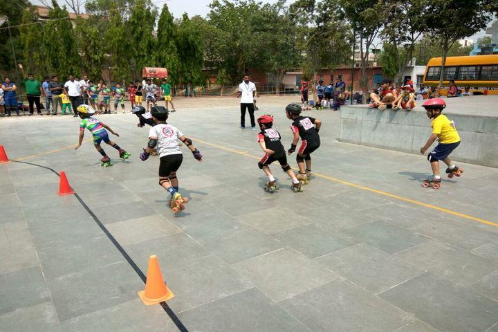 Dav Public School-Skating