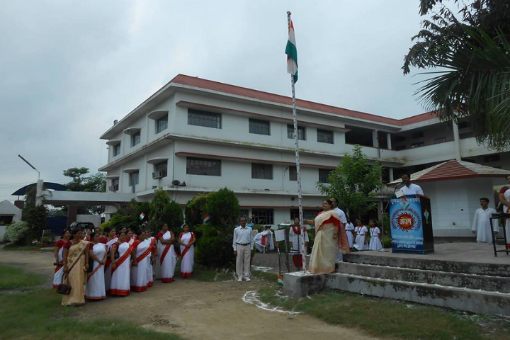 Dav Public School-National day celebration
