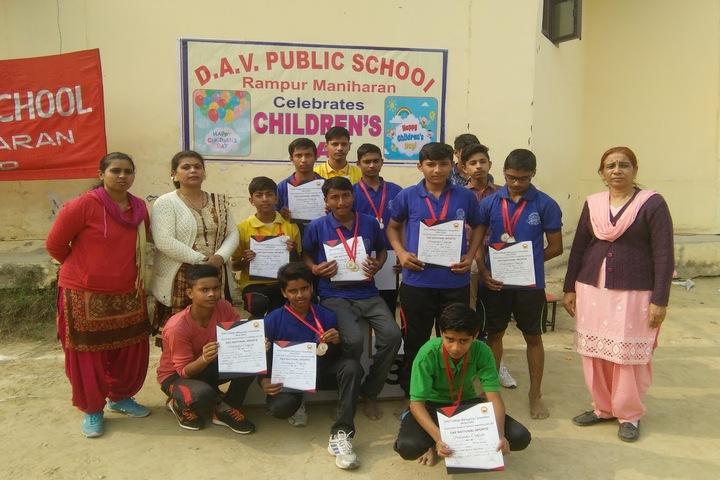 DAV Public School-Awards