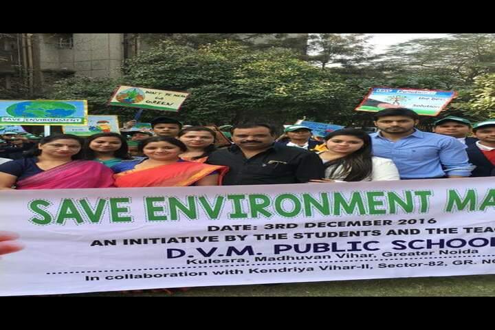 Dayanand Vidya Mandir-Rally