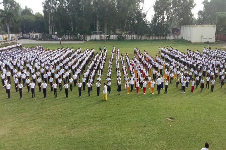 Dayawati Dharmavira Public School-Assembly