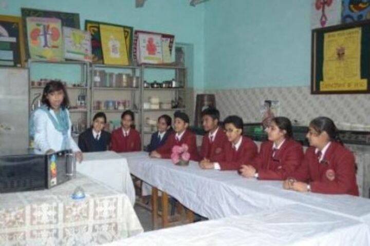 Dayawati Modi Academy-Home Science Lab