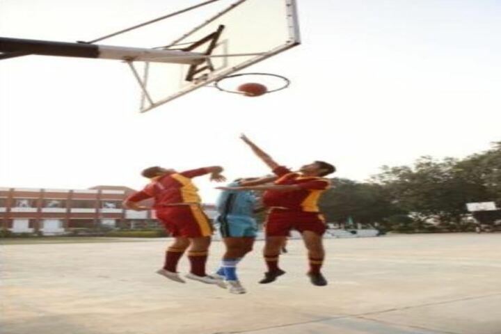 Dayawati Modi Academy-Basketball Sports