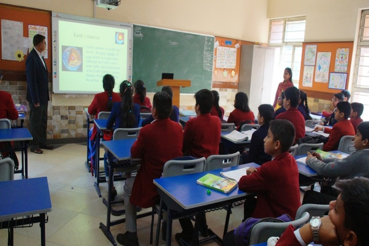 Dayawati Modi Academy-Digital Classrooms