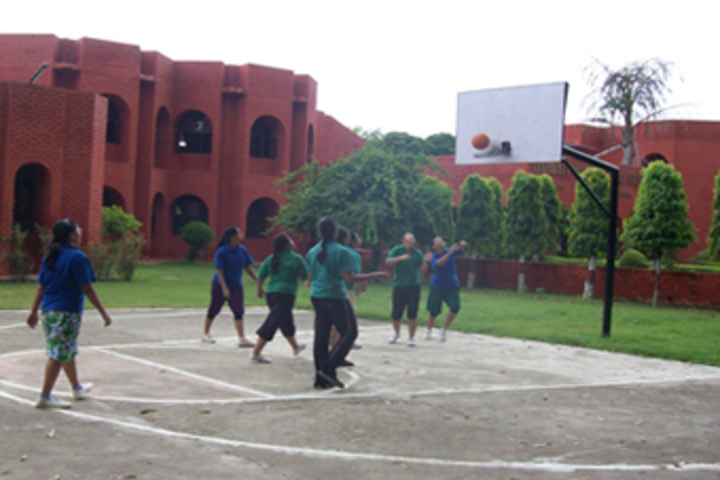 Dayawati Modi Public School-Basket Ball Court
