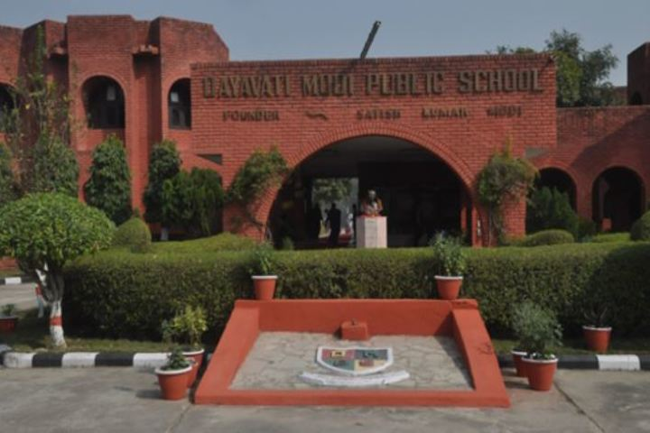 Dayawati Modi Public School-Campus