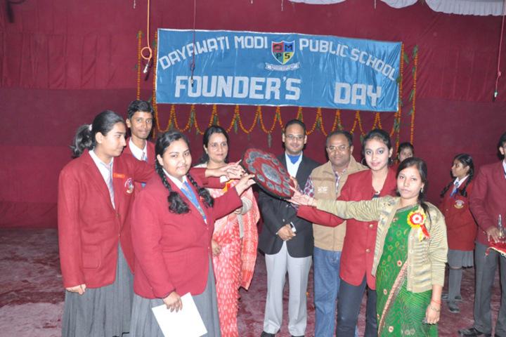Dayawati Modi Public School-Founders day