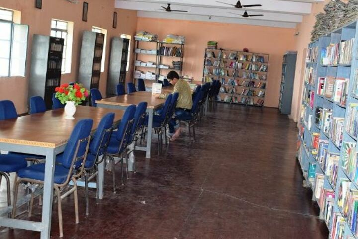 Senior Secondary Delhi Public School-Library