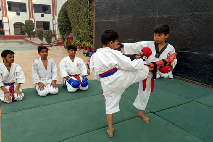 Dehradun Public School-Kick boxing