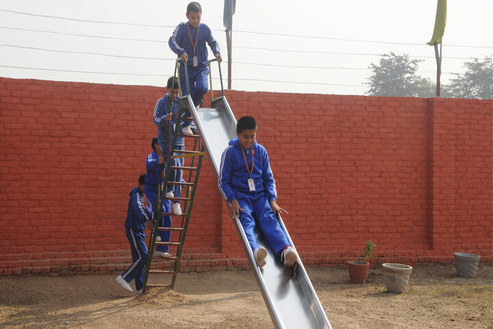 Delhi City School-Play Area