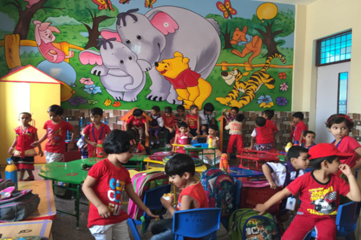 Delhi Global School-Kids Classroom