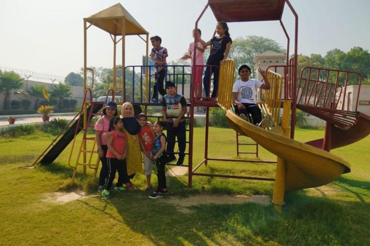 Delhi Global School-Kids Play area
