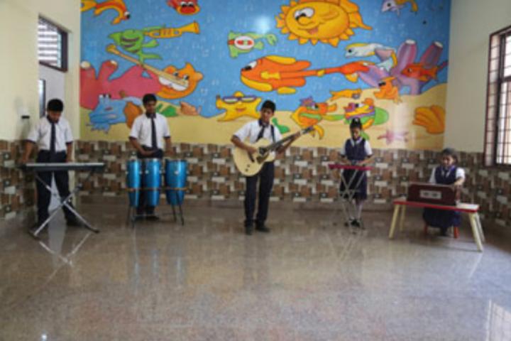 Delhi Global School-Music class
