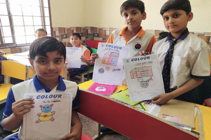 Delhi Global School-Painting competition