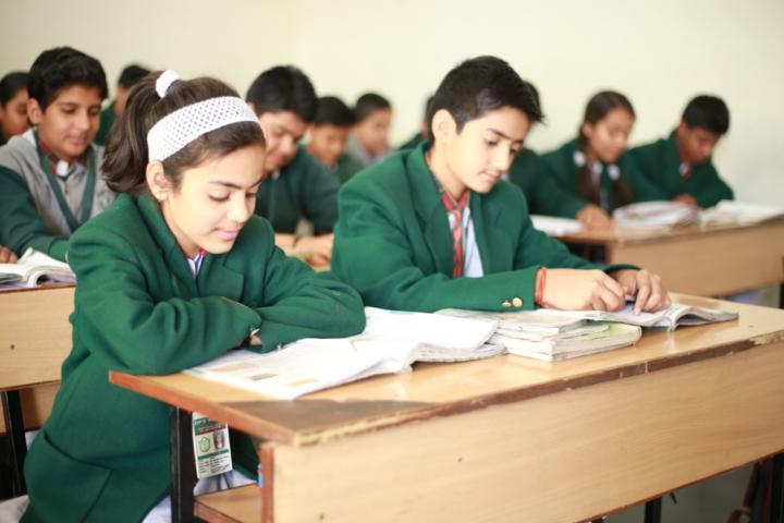 Delhi Public International School-Classrooms
