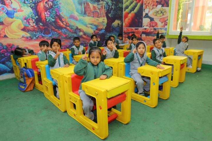 Delhi Public International School-Kids classrooms