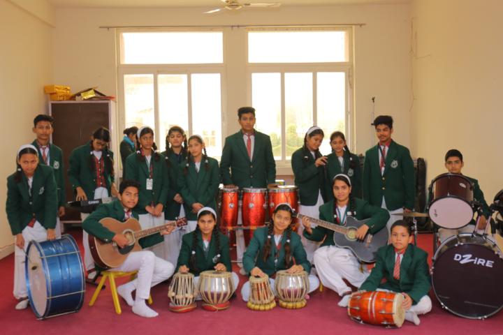 Delhi Public International School-Music class