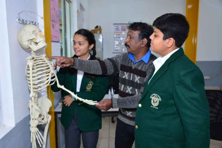 Delhi Public School-Biology-Lab