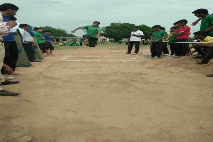 Delhi Public School-Long Jumping Competition