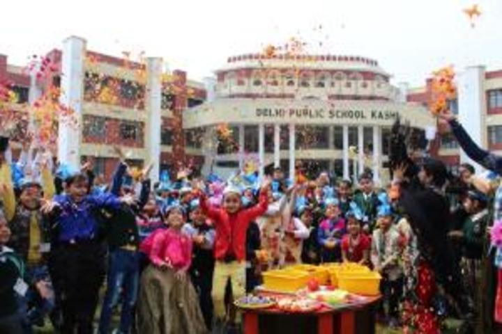 Delhi Public School-Holi Celebrations