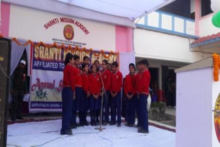 Shanti Mission Academy-Group Song