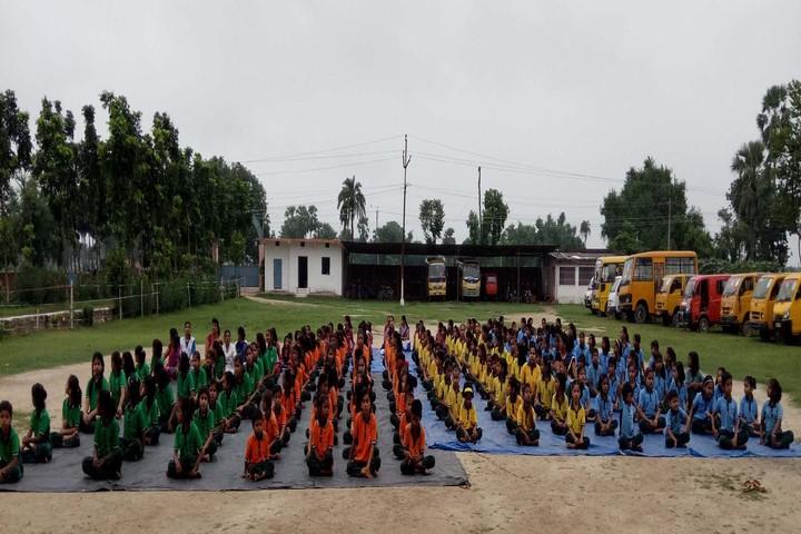 Shanti Mission Academy-Yoga Day