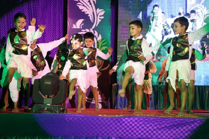 Dev International School-Events dance