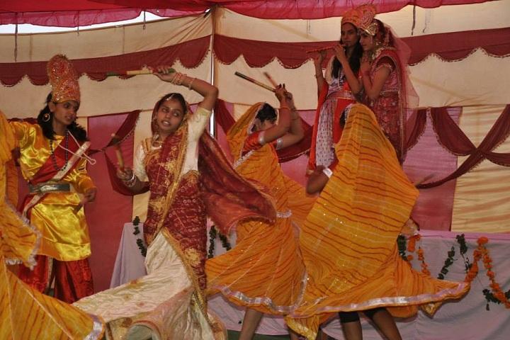 Dev Krishna Public School-Events dandiya