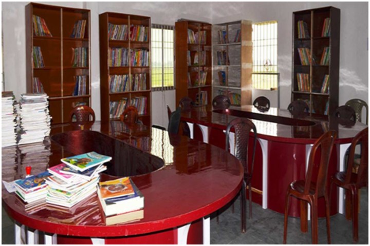 Shanti Niketan Academy- Library