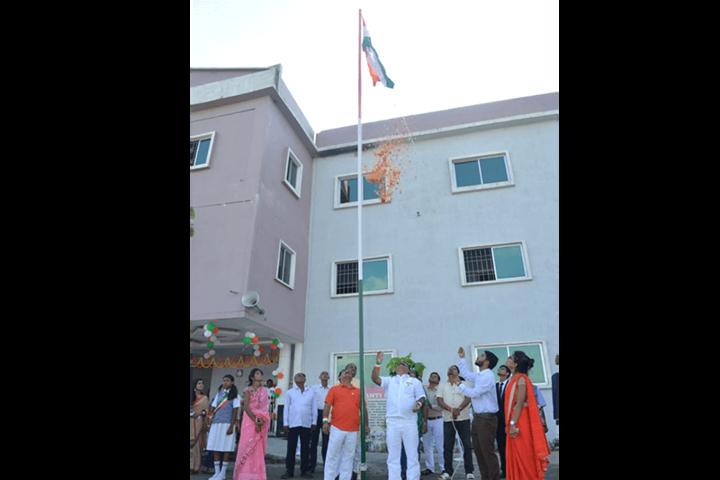Shanti Niketan Academy-Independence Day Celebration