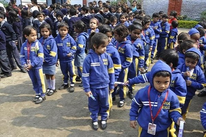 Shanti Niketan Academy-KG Students