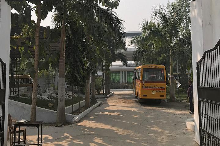 Diamond Public School-Campus-View entrance