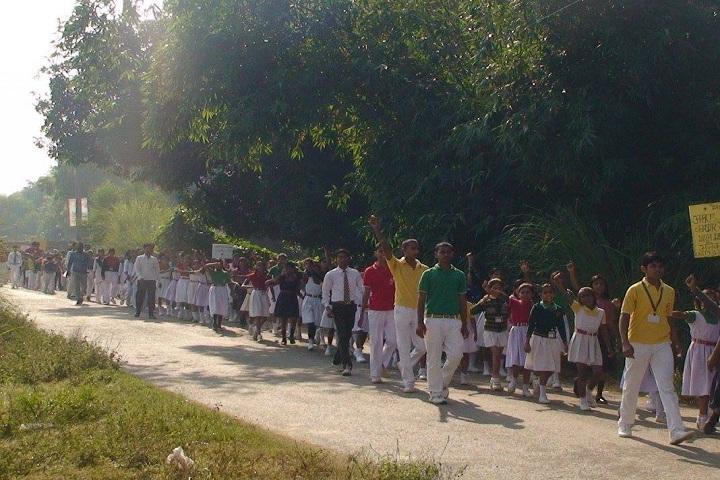 Dinapur Public School-Others rally