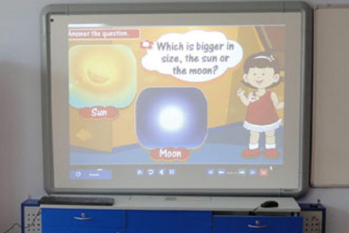 Divine Educational Institute-Classroom smart