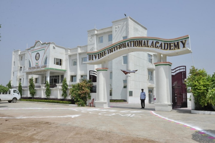 Divine International Academy-Campus-View entrance