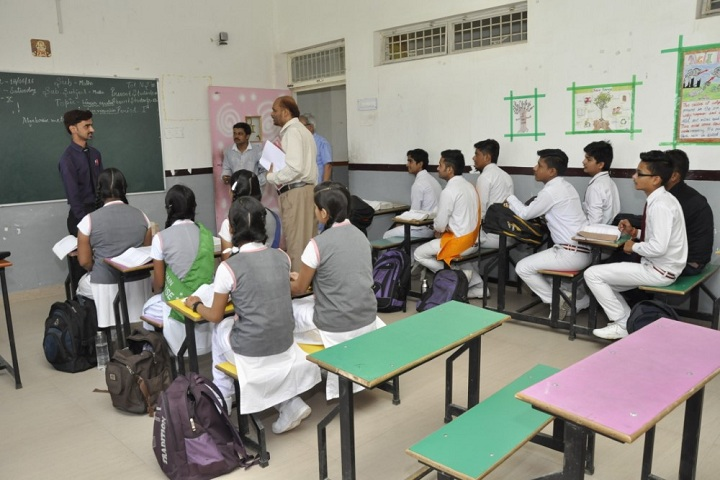 Divine International Academy-Classroom with students